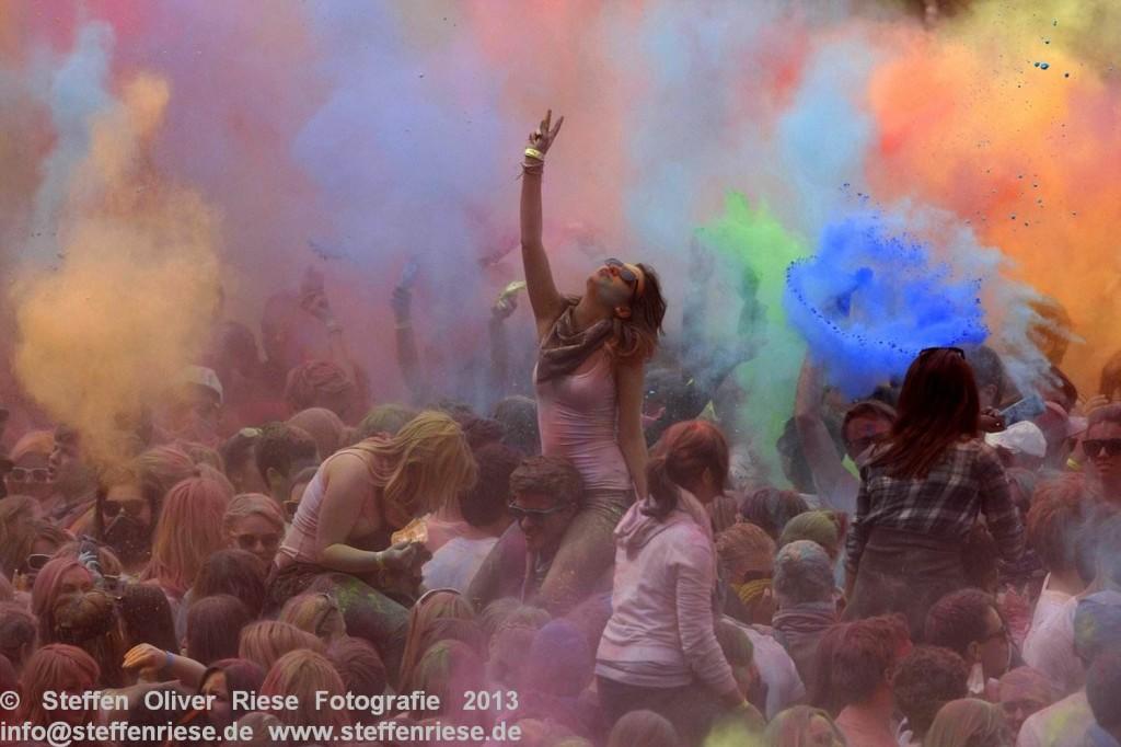 Holi Fest der Farben 2013 in Nürnberg